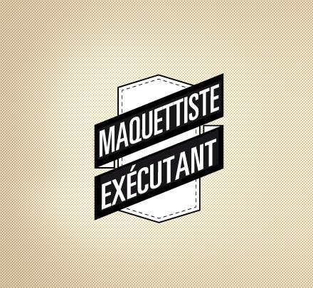 Job - maquettiste exécutant
